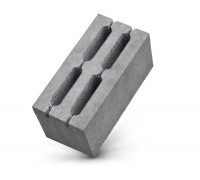 Блок керамзитный 390*190*190