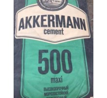 Цемент М500 (40 кг) Аккерман