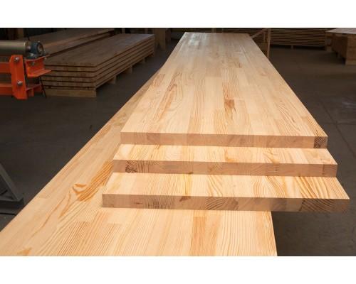 Мебельный щит Сосна (сорт АА) 3000х600х18 мм