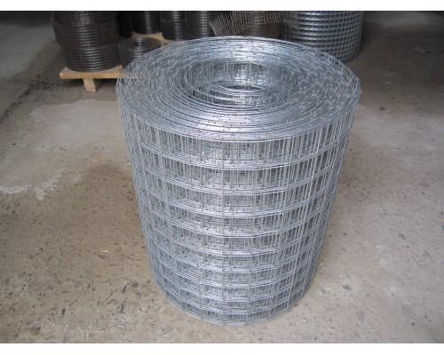 Сетка рулонная (Оцинкованная) размеры яч.50x50x1.4мм (0.5x25м)