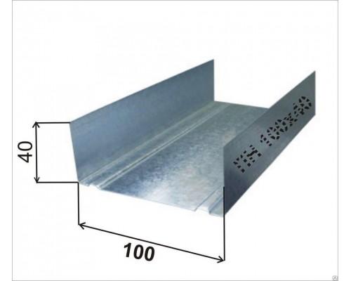 Профиль направляющий ПН 100х40х0.45мм (3м)
