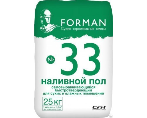 Наливной пол Forman 32, 25 кг